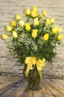 3 Dozen Yellow Roses