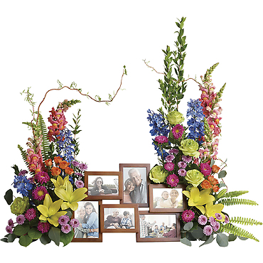 Loving Farewell Photo Tribute Bouquet