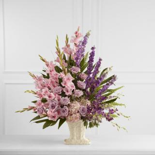Flowering Garden Arrangement