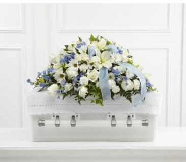 FTD Tender Treasure Casket Spray